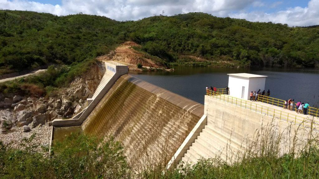 inspeção de barragem