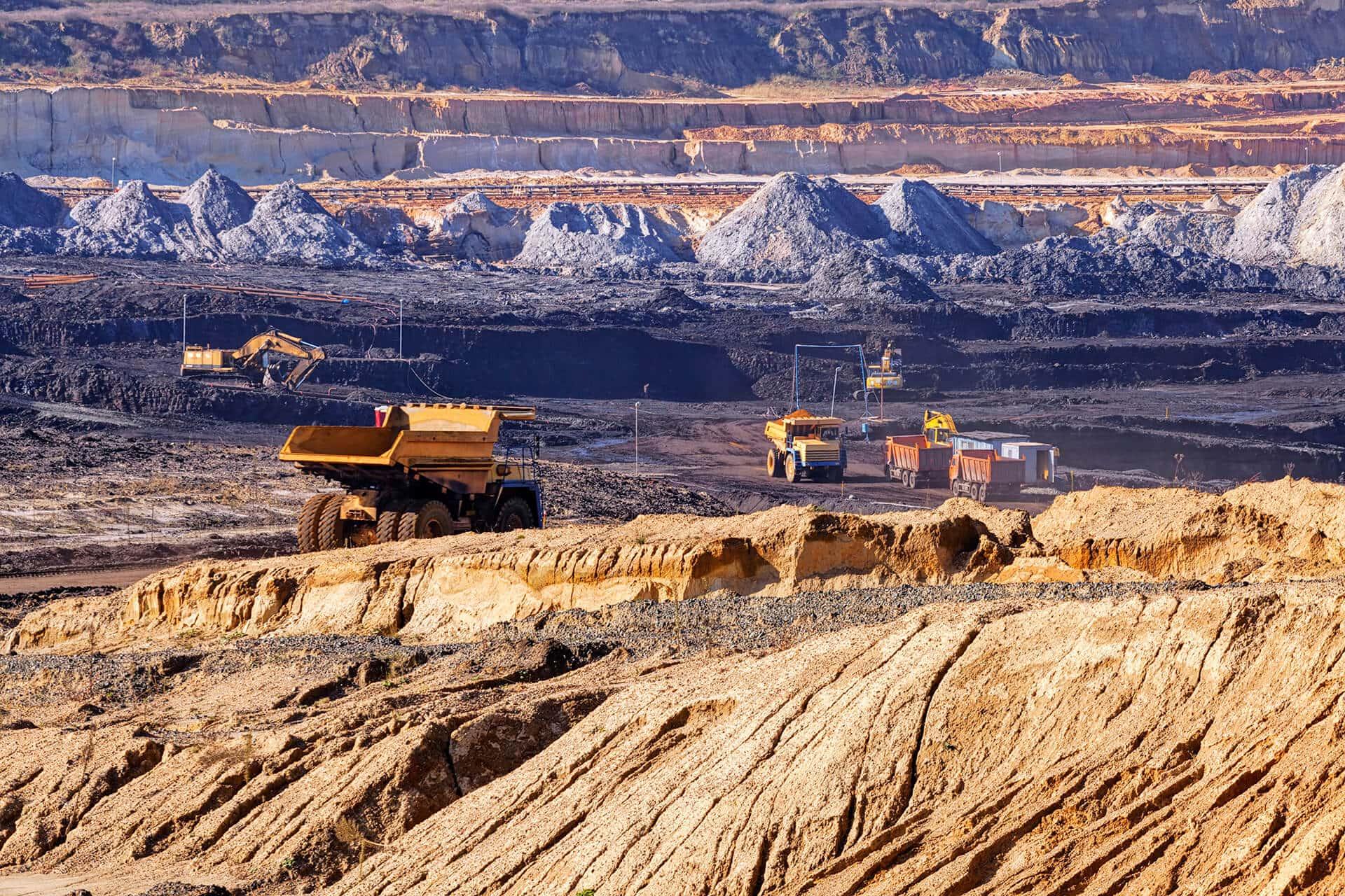 como investir em mineração