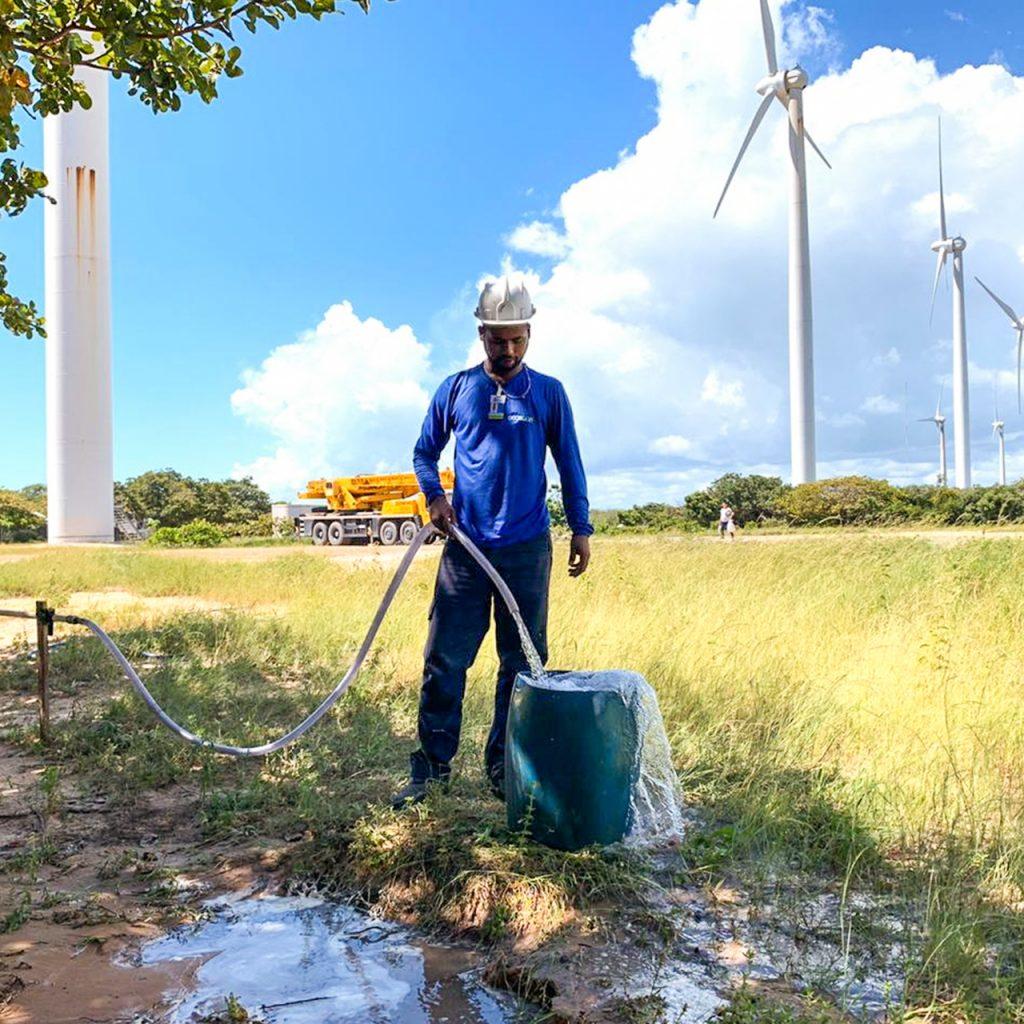 estudo de disponibilidade hídrica