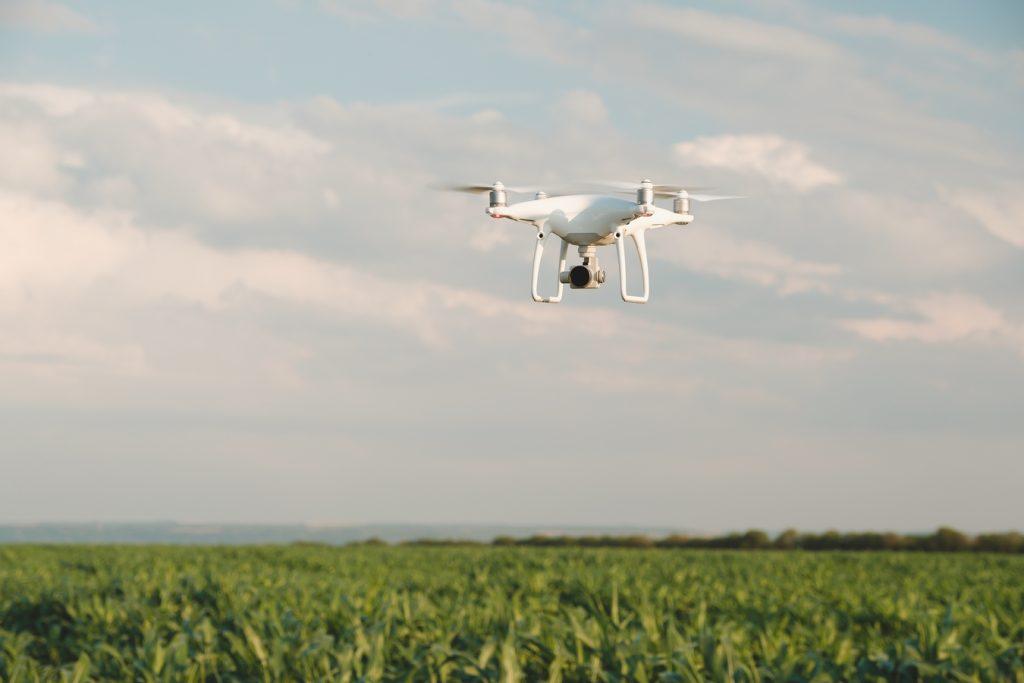 drones na mineração