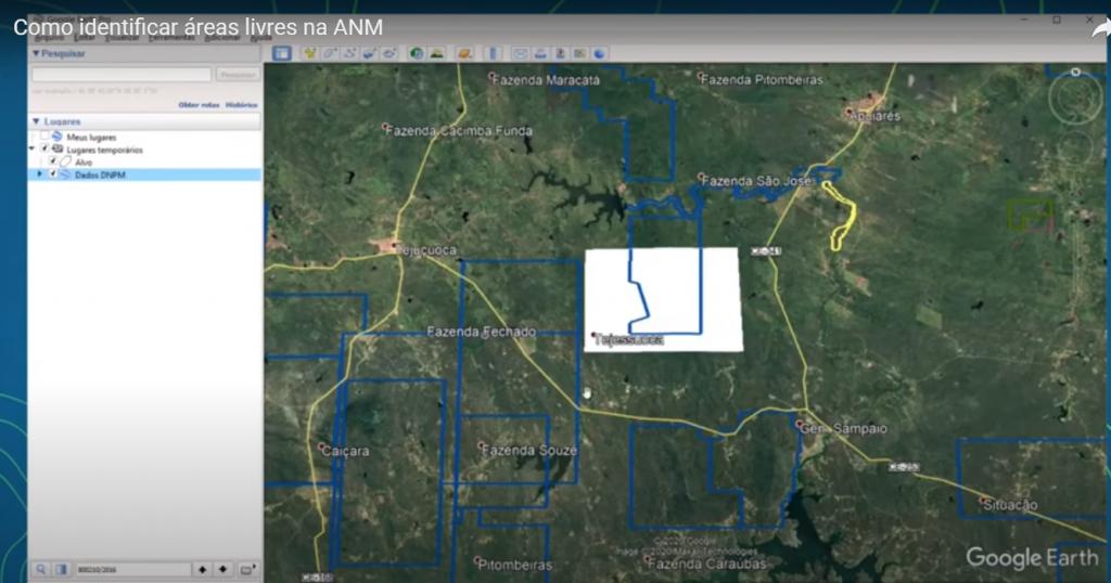 área livre agência nacional de mineração (anm)